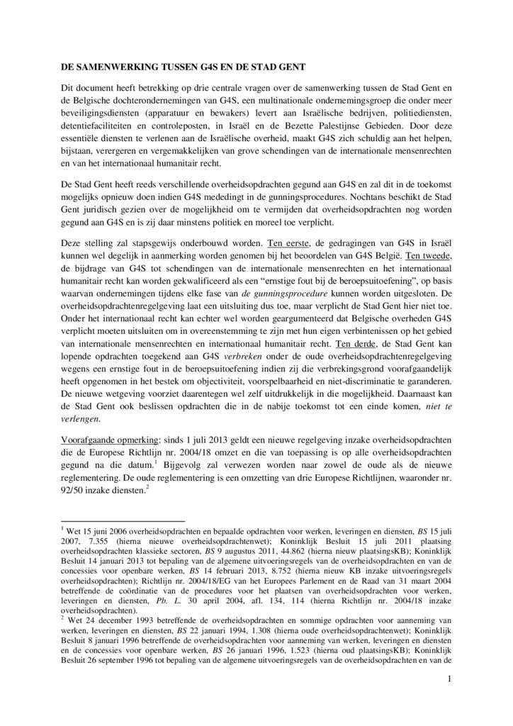 thumbnail of juridische nota G4S en Stad Gent Verdonck voor website
