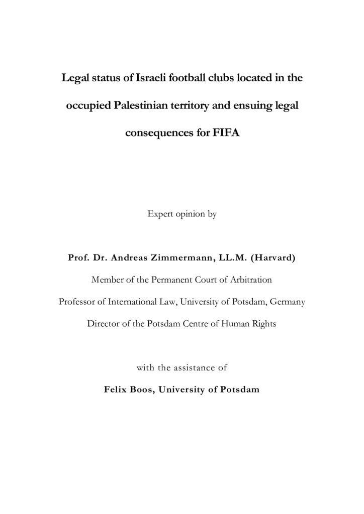 thumbnail of legal-status-of-israeli-football-clubs-located-in-the-occupied-palestinian-territory-and-ensuing-legal-consequences-for-fifa