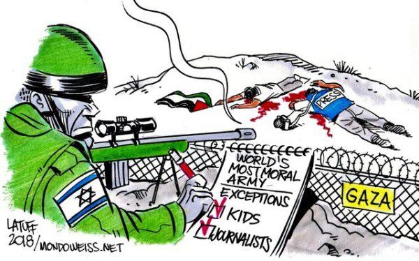 IDF-most-moral-army-Gaza-border-Israel-Mondoweiss